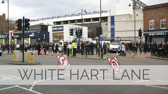 Learn To Say White Hart Lane?