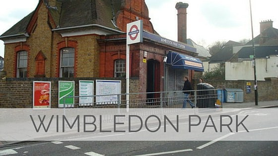 Learn To Say Wimbledon Park?