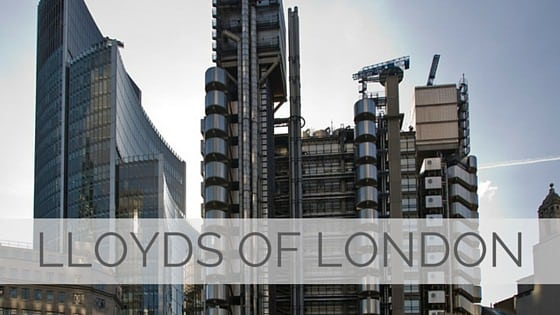 Learn To Say Lloyds Of London?
