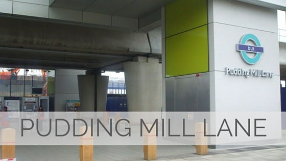 Learn To Say Pudding Mill Lane?