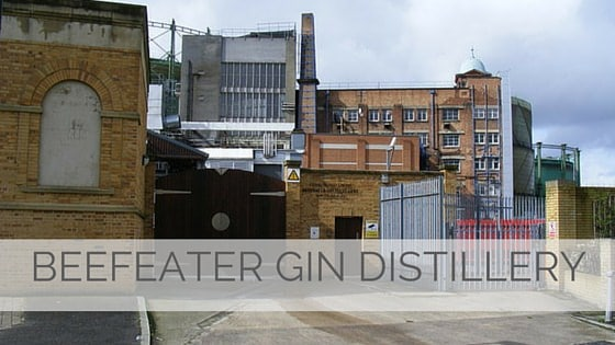 Learn To Say Beefeater Gin Distillery?