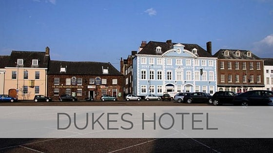 Learn To Say Dukes Hotel?