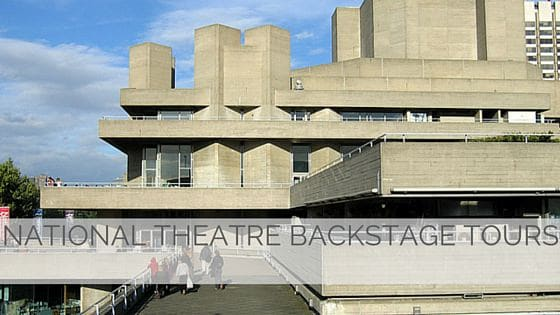 Learn To Say National Theatre Backstage Tours?