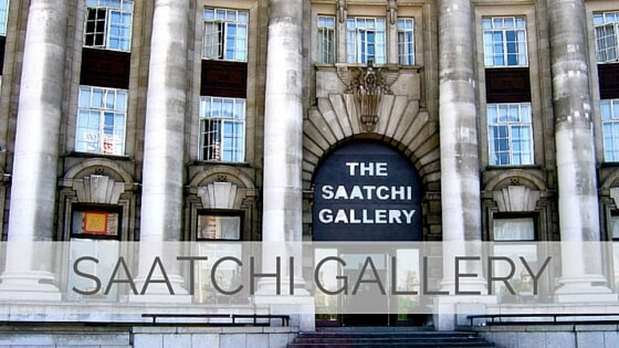 Learn To Say Saatchi Gallery?