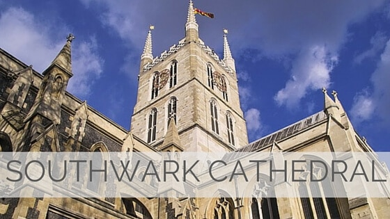 Learn To Say Southwark Cathedral?