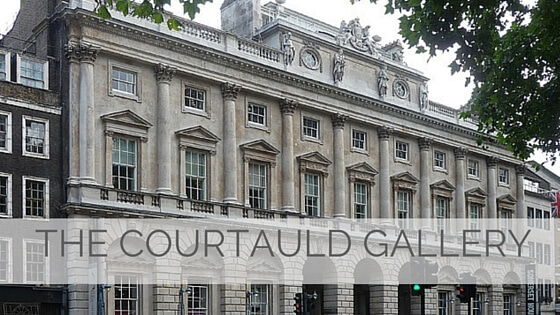 Learn To Say The Courtauld Gallery?