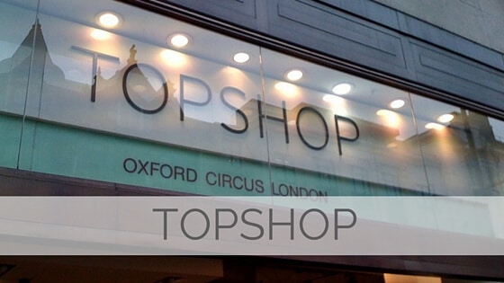 Learn To Say Topshop?