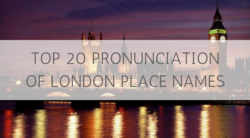 London Place Names